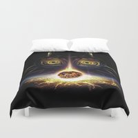 majora Duvet Covers featuring Majora's Mask Operation Moonfall by Barrett Biggers