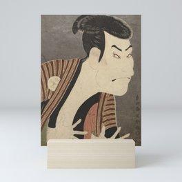 Famous Japanes Art: Tōshūsai Sharaku - Print of Ōtani Oniji III in the Role of the Servant Edobei Mini Art Print