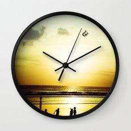 Sunset Play Wall Clock