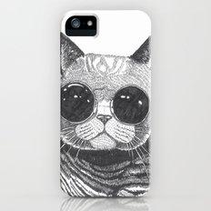 cool cat Slim Case iPhone (5, 5s)