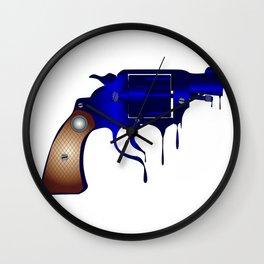 Melting Gun Wall Clock