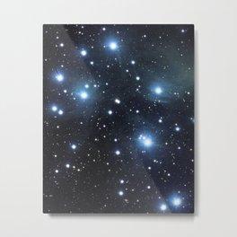 Pleiades (M45) (vertical version) Metal Print