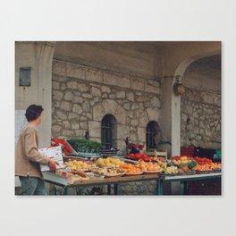 Les Halles, Biarritz Canvas Print