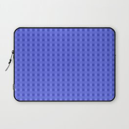 Retro Blue Squares Laptop Sleeve