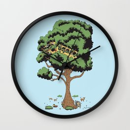 When Nature Wins Wall Clock