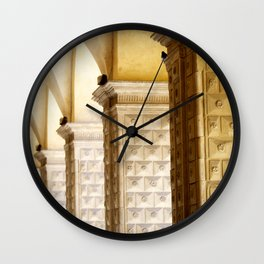 Arcades Wall Clock