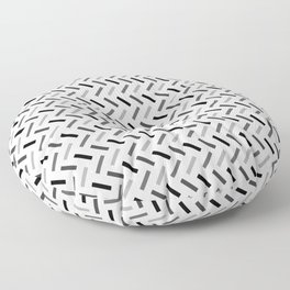 Wonky Rectangles Floor Pillow