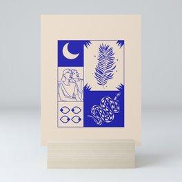 je t'aime  Mini Art Print