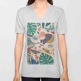 My Discoveries Unisex V-Neck