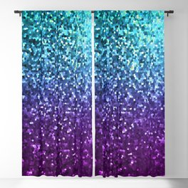 Mosaic Sparkley Texture G198 Blackout Curtain