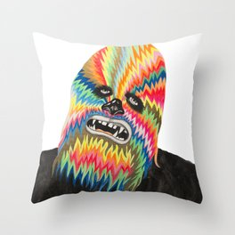 CHEWBACCA - Shrooms for Breakfast Throw Pillow