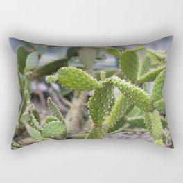 Cactus Spikes Plant Rectangular Pillow