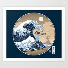 The Great Wave of Republic City Art Print
