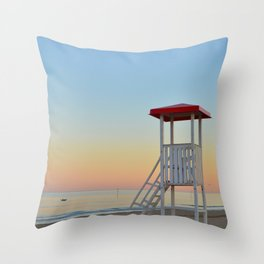 Patrol Tower Throw Pillow