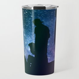 A Starry Night Travel Mug