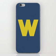 W is for... iPhone & iPod Skin