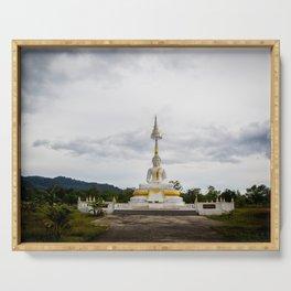 Thailand tempel Khao lak Serving Tray