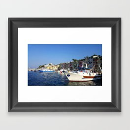 Beautiful Day In Italy Framed Art Print