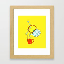 A Nice Cup Of Tea - Beverage Framed Art Print