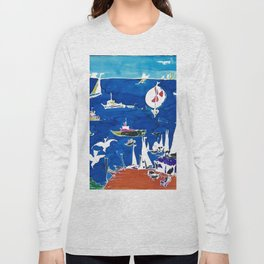 The Marina, Southport, AUSTRALIA        by Kay Lipton Long Sleeve T-shirt