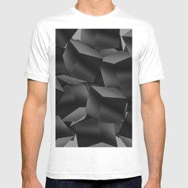Black Fade Cubes T-shirt