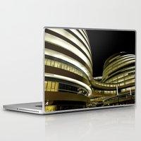 battlestar galactica Laptop & iPad Skins featuring Galactica BJ by vonschnitzenberg