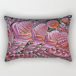 Red Lady / Dragon Eggs Rectangular Pillow