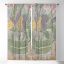 From Elizabeth to Mom Sheer Curtain