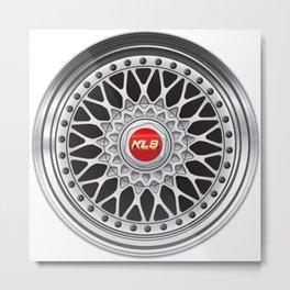 RS Wheel Metal Print