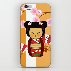 Kokeshi Ai  iPhone & iPod Skin