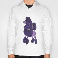poodle Hoodies featuring Poodle Doodle by Jill Pace