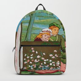 Kate Greenaway - Valentine, The spring - Digital Remastered Edition Backpack