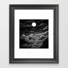 Drawlloween 2016: Witch Framed Art Print
