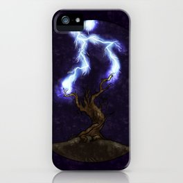 Electricity iPhone Case