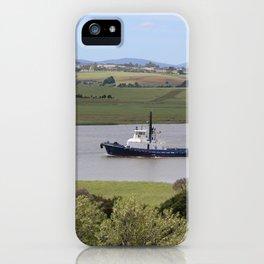 Tug Motoring Down the Tamar* iPhone Case