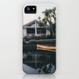 A Frame   Venice Beach, California iPhone Case
