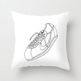 A Shoe Throw Pillow