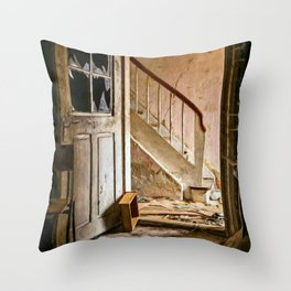 Lost Places Throw Pillow
