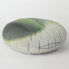Empty Cup & Rings Floor Pillow