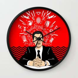 Twin Peaks: Dale Cooper's Thoughts Wall Clock