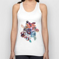 agate Tank Tops featuring Earth's Loveliness, Agate Collection by Elena Kulikova