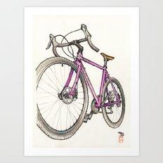 Straggler Art Print