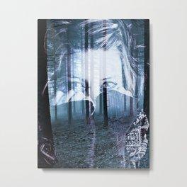 & Photo Series: Spooky Metal Print