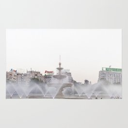 Roumania, Union Square, Bucarest Rug