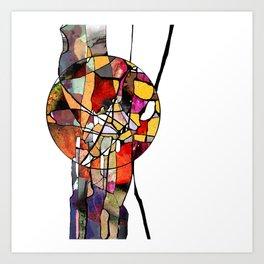 Everything follows an orbit - all of us! Art Print