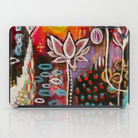 new year iPad Cases featuring New Year by kristenheinlein