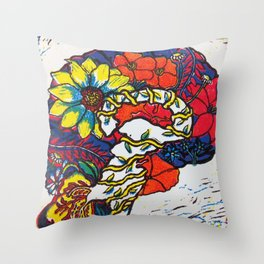 A Fertile Brain Throw Pillow