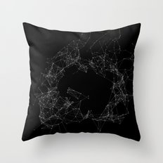Artificial Constellation Plain Throw Pillow