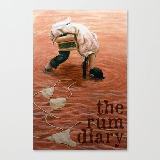 The Rum Diary Canvas Print