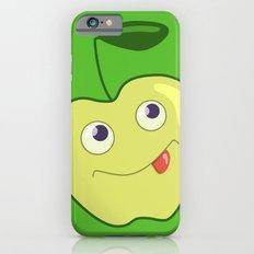 Cute Smliing Green Cartoon Apple iPhone 6s Slim Case